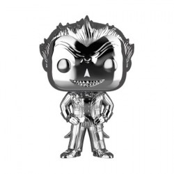 Figur Pop Batman Arkham Asylum Joker Silver Chrome Limited Edition Funko Geneva Store Switzerland