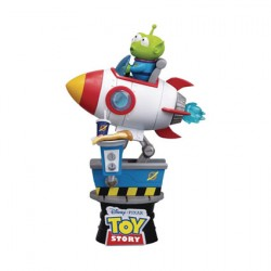 Figurine Disney Select Toy Story Alien Coin Ride Diorama Beast Kingdom Boutique Geneve Suisse