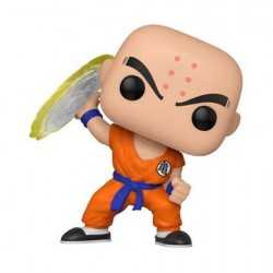 Figurine Pop Anime Dragon Ball Z Krillin with Destructo Disc Funko Boutique Geneve Suisse