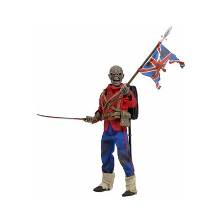 Figur Iron Maiden Eddie The Trooper Clothed Retro 20 cm Neca Geneva Store Switzerland