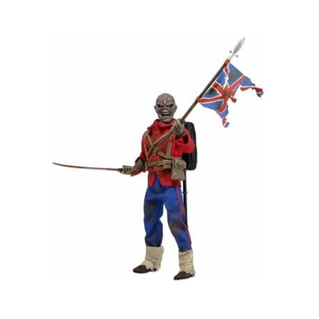 Figurine Iron Maiden Eddie The Trooper Clothed Retro 20 cm Neca Boutique Geneve Suisse