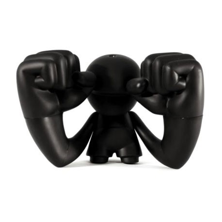 Figurine Thump Noir à Customiser par SaintKid Cookies 'n Cream Boutique Geneve Suisse