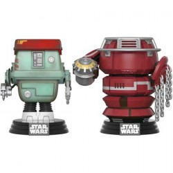 Figuren Pop Star Wars Solo Fighting Droids 2-Pack Limitierte Auflage Funko Genf Shop Schweiz