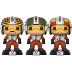 Figurine Pop Star Wars Red Squadron Wedge Biggs & Porkins 3-Pack Edition Limitée Funko Boutique Geneve Suisse
