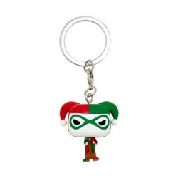 Figur Pop Pocket Keychains Batman Harley Quinn Holiday Funko Geneva Store Switzerland