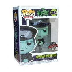 Figurine Pop Munsters Herman Hot Rod Edition Limitée Funko Boutique Geneve Suisse