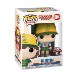 Figur Pop Stranger Things Dustin Arcade Cat Tee Limited Edition Funko Geneva Store Switzerland
