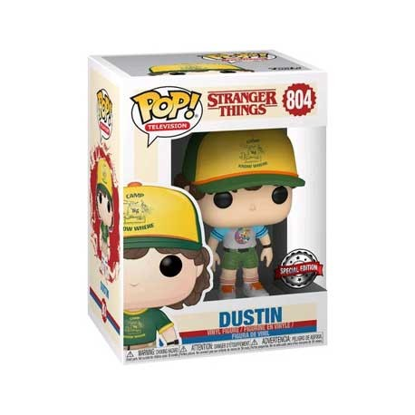 Toys Pop Stranger Things Dustin Arcade Cat Tee Limited Edition Funk