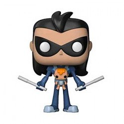 Figurine Pop Teen Titans Go! Robin as Nightwing with Baby Edition Limitée Funko Boutique Geneve Suisse
