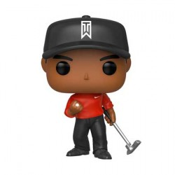 Figurine Pop Sport Red Shirt Tiger Woods Funko Boutique Geneve Suisse