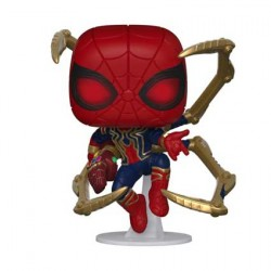 Figurine Pop Marvel Avengers Endgame Iron Spider with Nano Gauntlet Funko Boutique Geneve Suisse