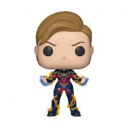 Figur Pop Marvel Avengers Endgame Captain Marvel with New Hair Funko Geneva Store Switzerland