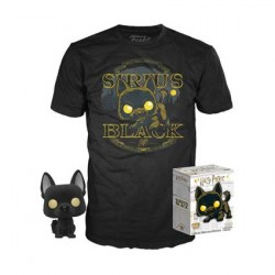Figur Pop Flocked and T-shirt Harry Potter Sirius Black Limited Edition Funko Geneva Store Switzerland
