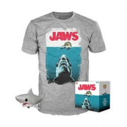 Figur Pop and T-shirt Jaws Night Swim Limited Edition Funko Geneva Store Switzerland