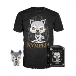 Figurine Pop et T-shirt Game of Thrones Nymeria Edition Limitée Funko Boutique Geneve Suisse