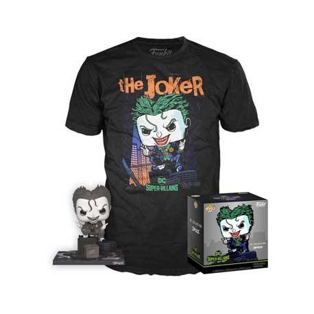 Figur Pop and T-shirt DC Comics The Joker Limited Edition Funko Geneva Store Switzerland