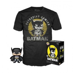 Figur POP and T-shirt DC Comics Batman Sun Faded Limited Edition Funko Geneva Store Switzerland