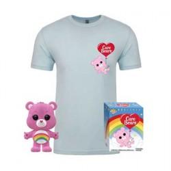 Figurine Pop Floqué et T-shirt Bisounours Cheer Bear Edition Limitée Funko Boutique Geneve Suisse