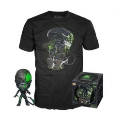 Figur Pop and T-shirt Alien 40th Xenomorph Limited Edition Funko Geneva Store Switzerland