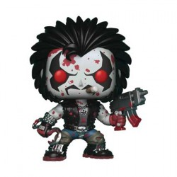 Figurine Pop DC Comics Lobo Bloody Edition Limitée Funko Boutique Geneve Suisse
