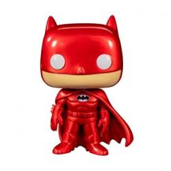 Figuren Pop Batman Red Metallic Limitierte Auflage Funko Genf Shop Schweiz