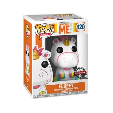 Figur Pop Despicable Me 3 Fluffy Rainbow Hooves Limited Edition Funko Geneva Store Switzerland