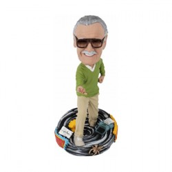 Figurine Marvel Stan Le Bobble Head en Résine Boutique Geneve Suisse