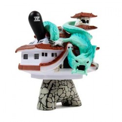 Figurine Duuny Arcane Divination The Tower par Jon-Paul Kaiser Kidrobot Boutique Geneve Suisse