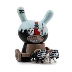 Figurine Duuny Arcane Divination The Chariot par Jon-Paul Kaiser Kidrobot Boutique Geneve Suisse