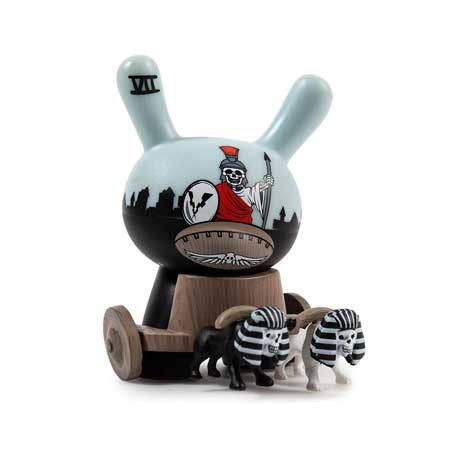 Figur Duuny Arcane Divination The Chariot by Jon-Paul Kaiser Kidrobot Geneva Store Switzerland