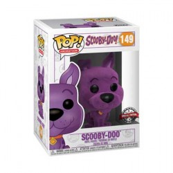 Figurine Pop Scooby Doo Purple Flocké Edition Limitée Funko Boutique Geneve Suisse