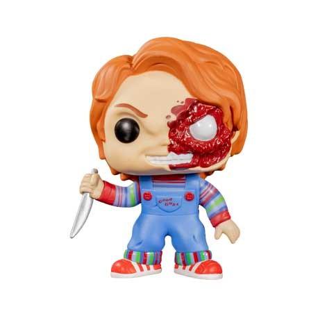 Figuren Pop Child's Play Chucky Half Battle Damaged Limitierte Auflage Funko Genf Shop Schweiz