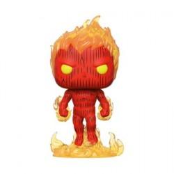 Figurine Pop Fantastic Four Human Torch Funko Boutique Geneve Suisse