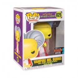 Figur Pop NYCC 2019 Simpsons Mr Burns as Dracula Limited Edition Funko Geneva Store Switzerland