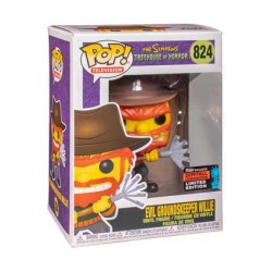 Figurine Pop NYCC 2019 Simpsons Evil Groundskeeper Willie Edition Limitée Funko Boutique Geneve Suisse