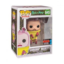 Figurine Pop NYCC 2019 Rick et Morty Shrimp Morty Edition Limitée Funko Boutique Geneve Suisse