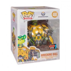 Figur Pop 15 cm NYCC 2019 Overwatch Toxic Wrecking Limited Edition Funko Geneva Store Switzerland