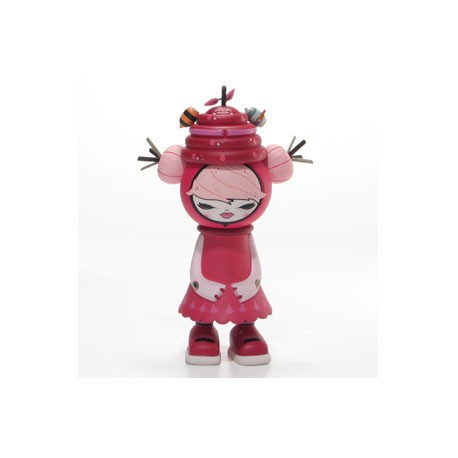 Figurine Bumble Pink par Julie West Strangeco Boutique Geneve Suisse