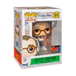 Figur Pop NYCC 2019 Pop Icons Keith Haring Limited Edition Funko Geneva Store Switzerland