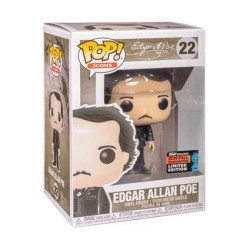 Figurine Pop NYCC 2019 Pop Icons Edgar Allan Poe with Book Edition Limitée Funko Boutique Geneve Suisse