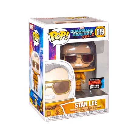 Figur Pop NYCC 2019 Marvel Stan Lee Cameo Astronaut Limited Edition Funko Geneva Store Switzerland