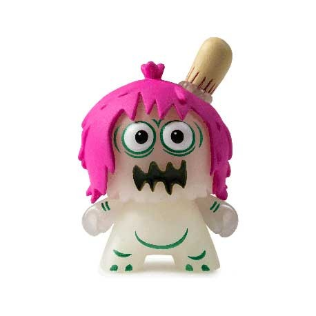 Figuren Duuny Kaiju Phosphoreszierend Ugly Unicorn von Jon Rampage Kidrobot Genf Shop Schweiz