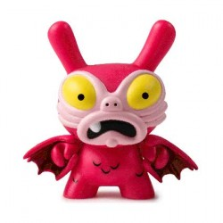 Figurine Duuny Kaiju Baby Greasebat Pink par Chauskoskis Kidrobot Boutique Geneve Suisse