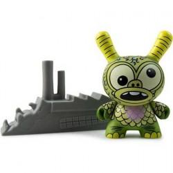 Figurine Duuny Kaiju Greasebat par Jeff Lamm Kidrobot Boutique Geneve Suisse