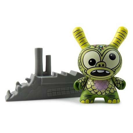 Figur Duuny Kaiju Greasebat by Jeff Lamm Kidrobot Geneva Store Switzerland