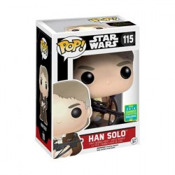 Figurine Pop SDCC 2016 Star Wars Han Solo Bowcaster Limité Funko Boutique Geneve Suisse