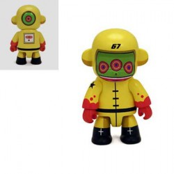 Figurine Qee Spacebot 67 par Dalek Qee Geneve