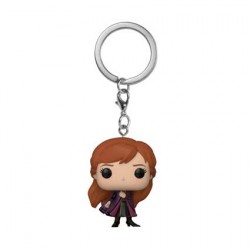 Figurine Pop Pocket Porte-clés Frozen 2 Anna Funko Boutique Geneve Suisse