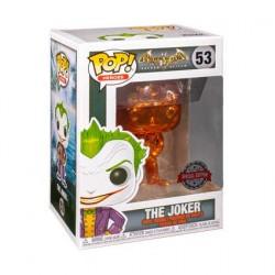 Pop Batman Arkham Asylum The Joker Orange Chrome Limited Edition