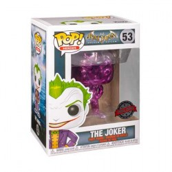 Figurine Pop Batman Arkham Asylum The Joker Purple Chrome Edition Limitée Funko Boutique Geneve Suisse